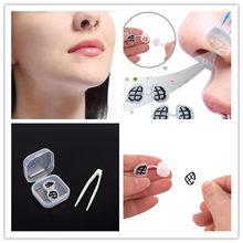 Filtre Anti-poussière pour le nez, nouveau, amovible, forme ronde, nez confortable, Invisible, filtres nasaux, Anti-Pollution de l'air, masques contre les allergies au Pollen