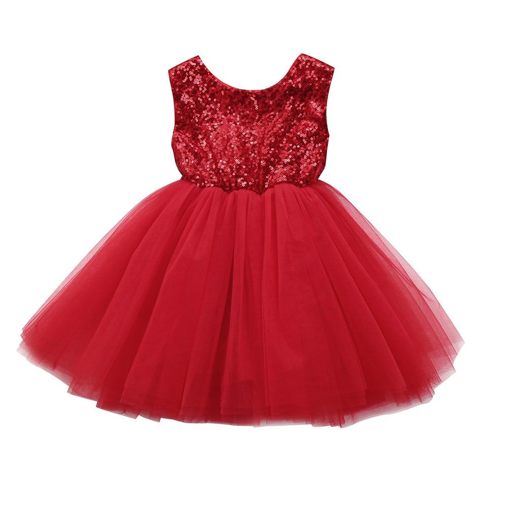 9d79d3587 Compre Vestido De Niña De Moda Niño Niño Niña Corazón Lentejuelas Fiesta  Princesa Tutu Vestido De Tul Trajes Moda Vestidos Sin Mangas A $36.36 Del  Yohkoh ...