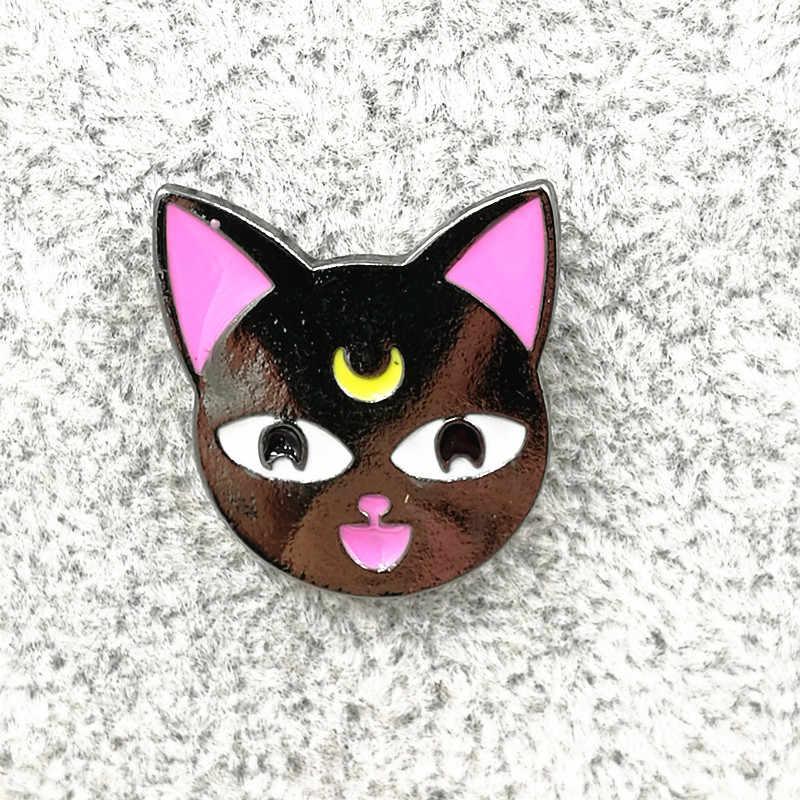 Timlee X191 эмалированная булавка в виде Милого Животного единорога, воздушный шар, кошка, конверт, металлическая брошь на булавке, модное ювелирное изделие, оптовая продажа