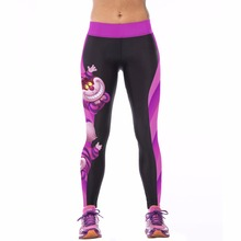 2016 Women Sportswear Yoga Pants Skinny High Waist Elastic Gym Fitness Workout Stretch Running Tights Sports Leggings