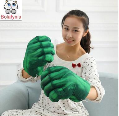 Creative plush toys a <font><b>Spiderman</b></font> <font><b>glove</b></font> boxing <font><b>gloves</b></font> children <font><b>adult</b></font> Hulk birthday gift