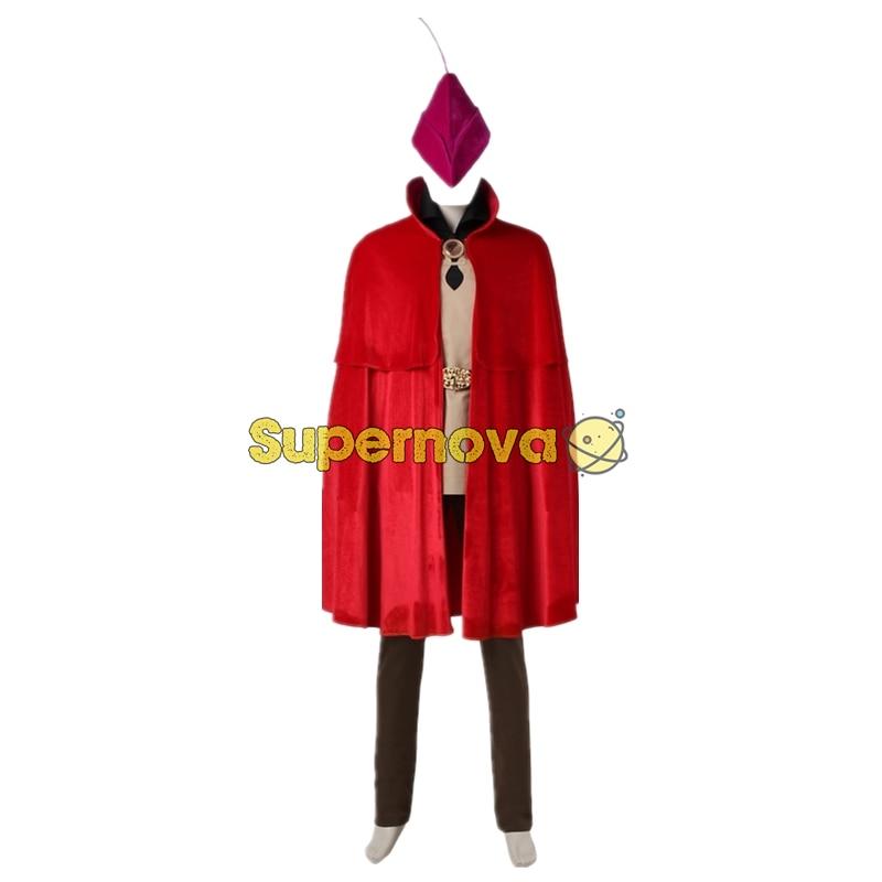 Sleeping Beauty Prince Phillip Costume Aurora Phillip Cosplay Suit Prince Suit Adult Men Halloween Cosplay Costume
