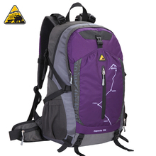 KIMLEE 35L UltralightWaterproof Breathable Mountaineering Backpack Tear-Resistant Water Repellent Sports Leisure Travelling Bag