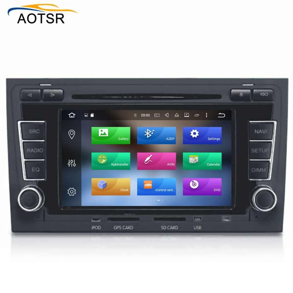2 ディンアンドロイド 8.1 カーマルチメディア dvd プレーヤーのためのアウディ A4 S4 RS4 8E 8F B9 B7 車ラジオステレオ GPS ナビゲーション 8 コア 4 + 32