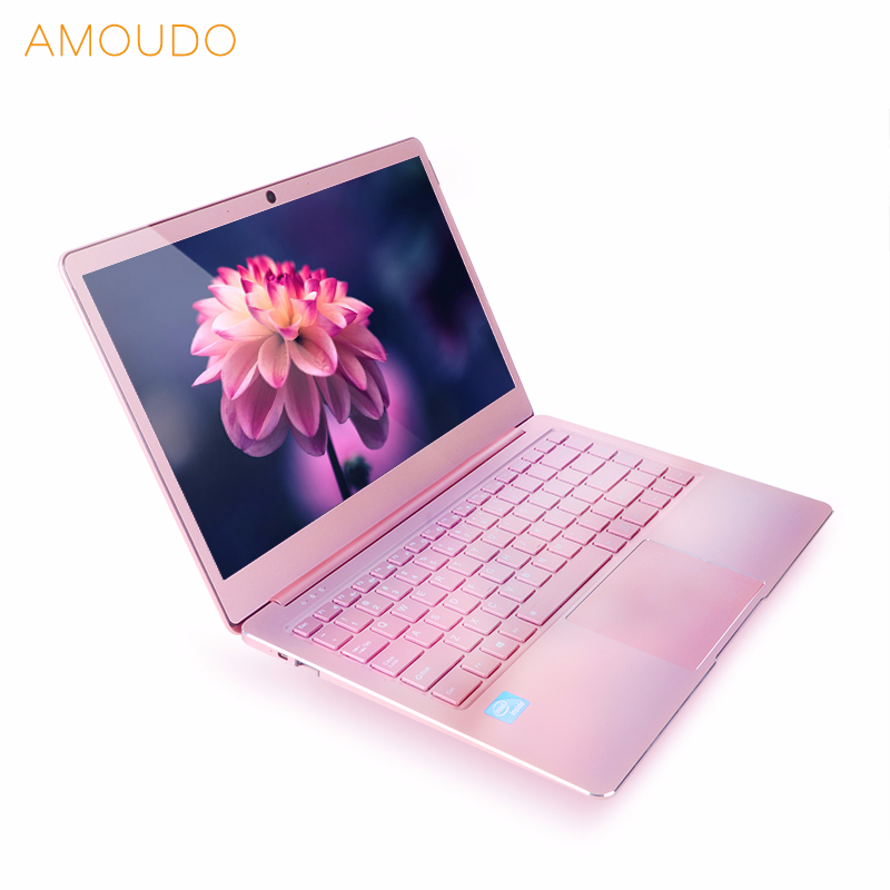 14 pouces 8 gb Ram 64 gb/128 gb/256 gb SSD Intel Quad Core CPU 1920X1080 p FHD Windows 10 Métal Ultra-Mince Ordinateur Portable Ordinateur Portable