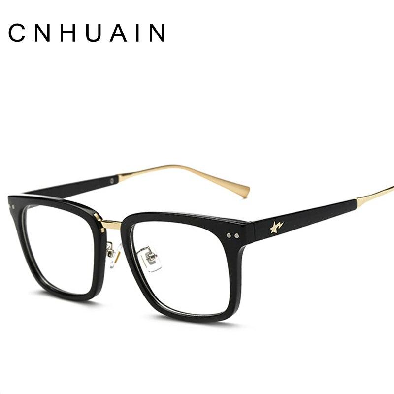 ΞCNHUAIN Eyeglasses Men Brand Optical Frames Women Clear Lens Eye ...