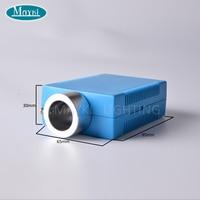 Maykit multicolor fibra óptica emisor con 18mm RF 6 W RGB rojo azul naranja amarillo verde fibra óptica iluminación