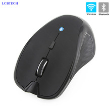 Original Bluetooth 3.0 Mouse Wireless/Optical Mice USB Office Computer Silent Mouse Rechargeable Ergonomic 2.4GHZ rapoo mt550 wireless mouse bluetooth 3 0 4 0 and 2 4g computer four devices connection mice