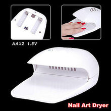 NEW Nail Dryer Fan for Hands and Toe Tips Polish Manicure Pedicure Beauty Salon #1342