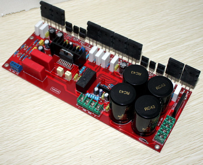 LM4702 + 1943/5200 Power Amplifier Board (200W + 200W) High Quality DIYLM4702 + 1943/5200 Power Amplifier Board (200W + 200W) High Quality DIY