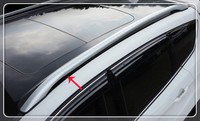 Автомобиль Топ Чемодан рейлинги Стойки монтируется в стойку для Ford Kuga/Побег 2013 2014 2015 2016 2017 авто аксессуары крышка автомобиля