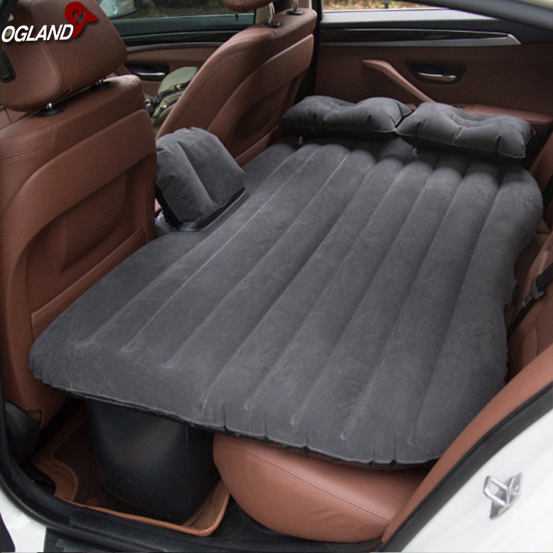 Image 5 - OGLAND Car Air Inflatable Travel Mattress Bed for Car Back Seat Mattress Multifunctional Sofa Pillow Outdoor Camping Mat Cushion-in Car Travel Bed from Automobiles & Motorcycles