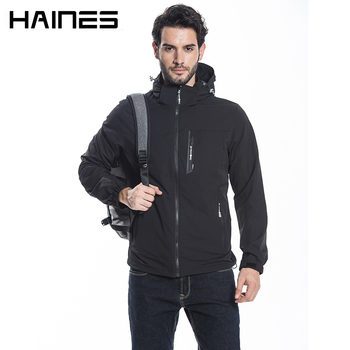 HAINES Man Jacket Summer Breathable Thin Military Jackets jaqueta masculina Hooded Waterproof Windproof Bomber Jacket