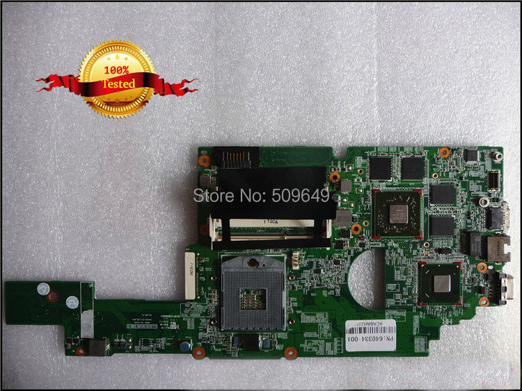 все цены на Top quality , For HP laptop mainboard 640334-001 dv4-3000 laptop motherboard,100% Tested 60 days warranty онлайн