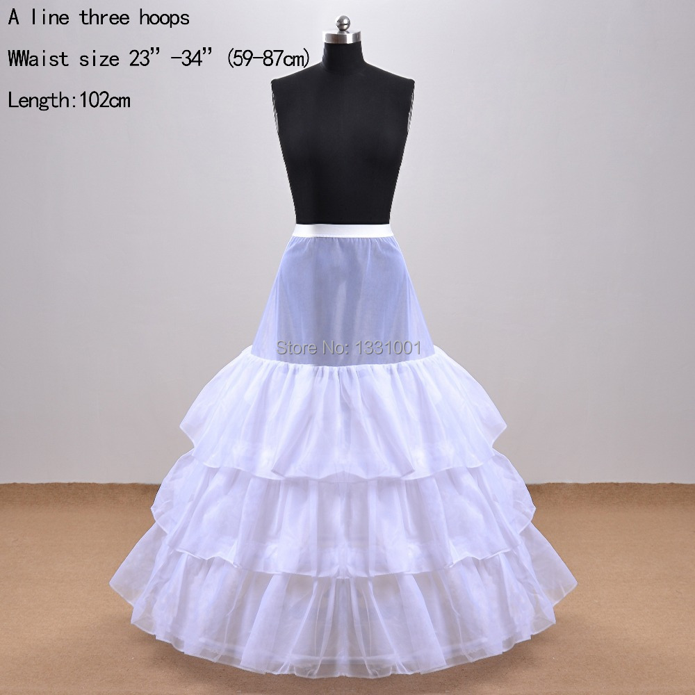 fashion 110cm diameter crinoline plus size petticoats for