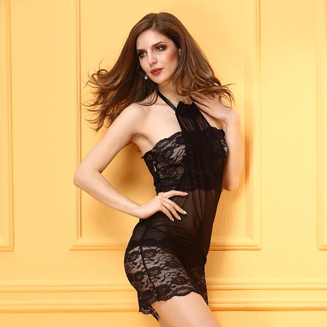 Nuevo 2016 Europa y los Estados Unidos de encaje sexy lencería perspectiva de alto grado del comercio exterior adultos ropa interior exótica