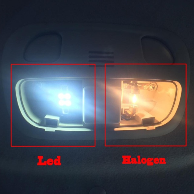 12x White Error Free LED Interior Light Kit for 2005-2010 Jeep Grand Cherokee accessories Map Dome Trunk License Plate Light 5