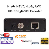 H.265/HEVC H.264/AVC SDI Видео Кодировщик поддержка HD-SDI 3G-SDI поддержка RTMP для прямой трансляции как wowza, фмс, youtube, facebook…