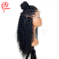 360 Lace Frontal Wig Pre Plucked With Baby Hair Brazilian Remy Curly Lace Front Human Hair Wig 150 Density 360 Wigs Hesperis