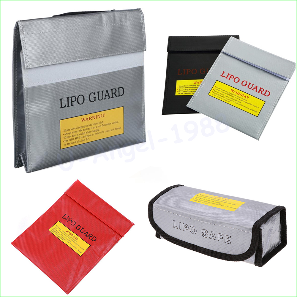 1pcs High Quality RC LiPo Battery Safety Bag Safe Guard Charge Sack Charge Sack Battery Protection Bag For LiPo Battery