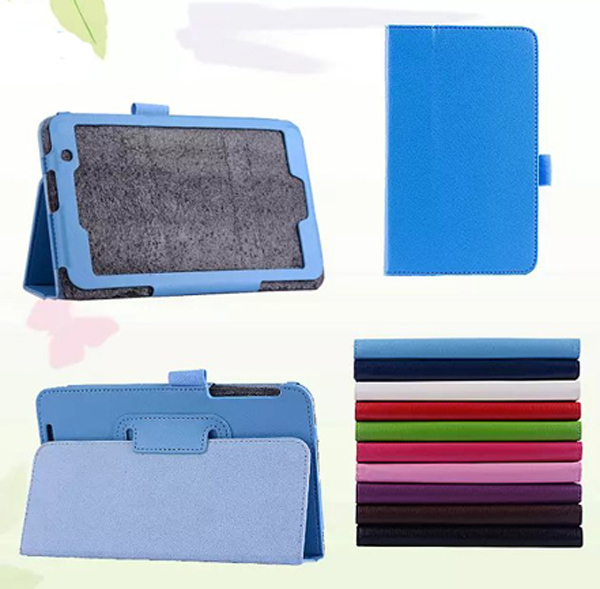 New 2-Folder Luxury Magnetic Folio Stand Leather Case Protective Cover For ASUS MeMO Pad 7 ME176CX ME176 K013 7 Tablet