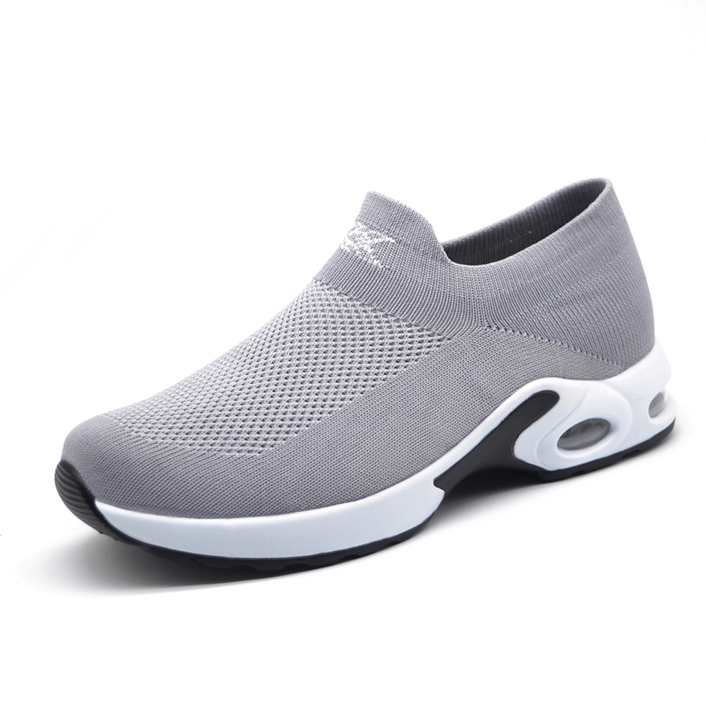 00ccbfc5a07 STQ 2019 Spring women sneakers shoes flat slip on platform sneakers for women  black breathable mesh sock sneakers shoes 1839-in Women's Flats from Shoes  on ...