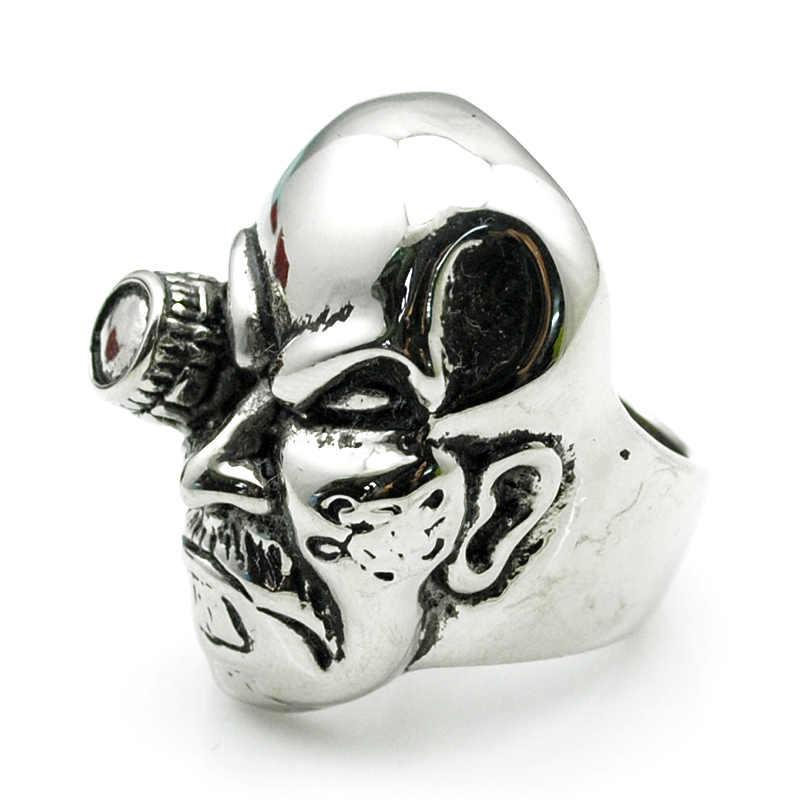 ATGO بارد صعبة غي فاسق خاتم راكبي دراجات للرجال عالية فولاذ مصقول مقاوم للصدأ مجوهرات جديد عصري حزب هدية ل أفضل صديق BR431