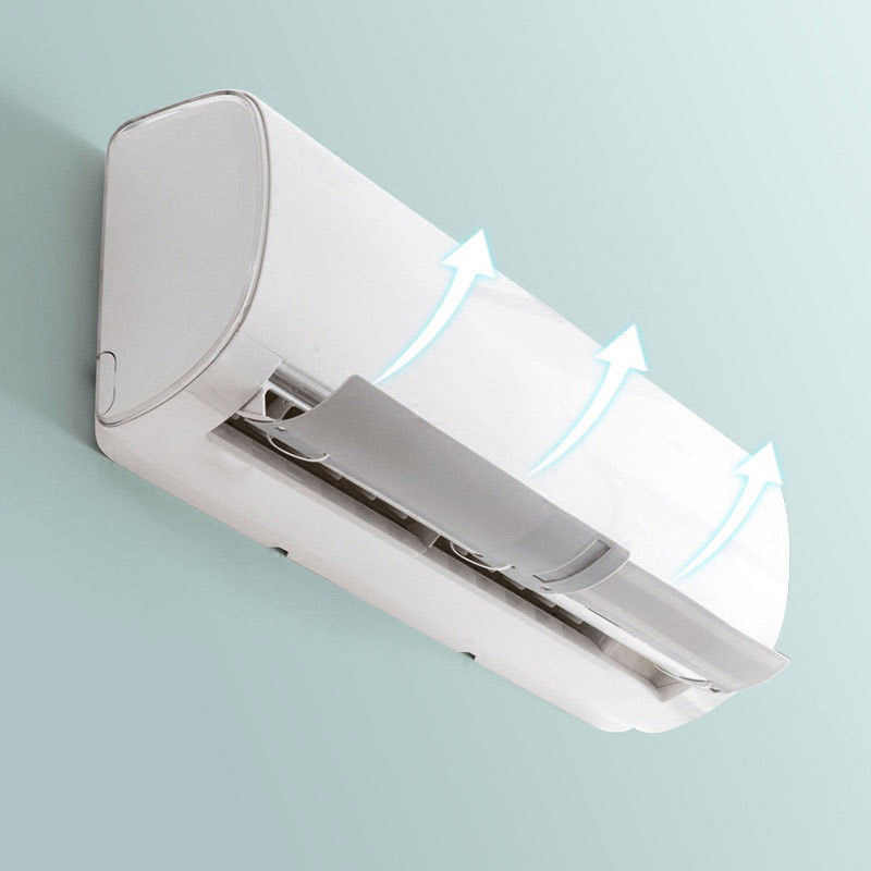 Air Conditioner Windshield Cold Wind Deflector Retractable Baffle for Home Office Hotel QJ888