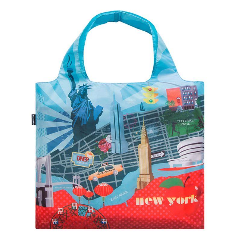 100% Wahr Hohe Qualität Faltbare Handliche Einkaufstaschen Reusable Tote Beutel Recycling Lagerung Handtaschen 2019 Neue Schrecklicher Wert