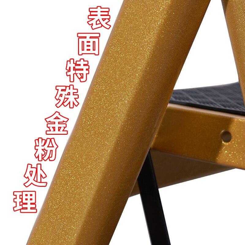 Anti Slip Little Folding ladder Giant Golden 3 Tread Safety Step ...