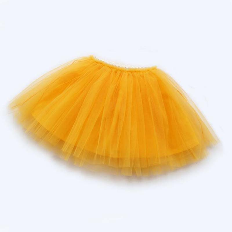 girls skirts princess lovely tutu skirts for 1-12Years kids spring summer clothes 11 color short girls lace skirts dance clothes 4