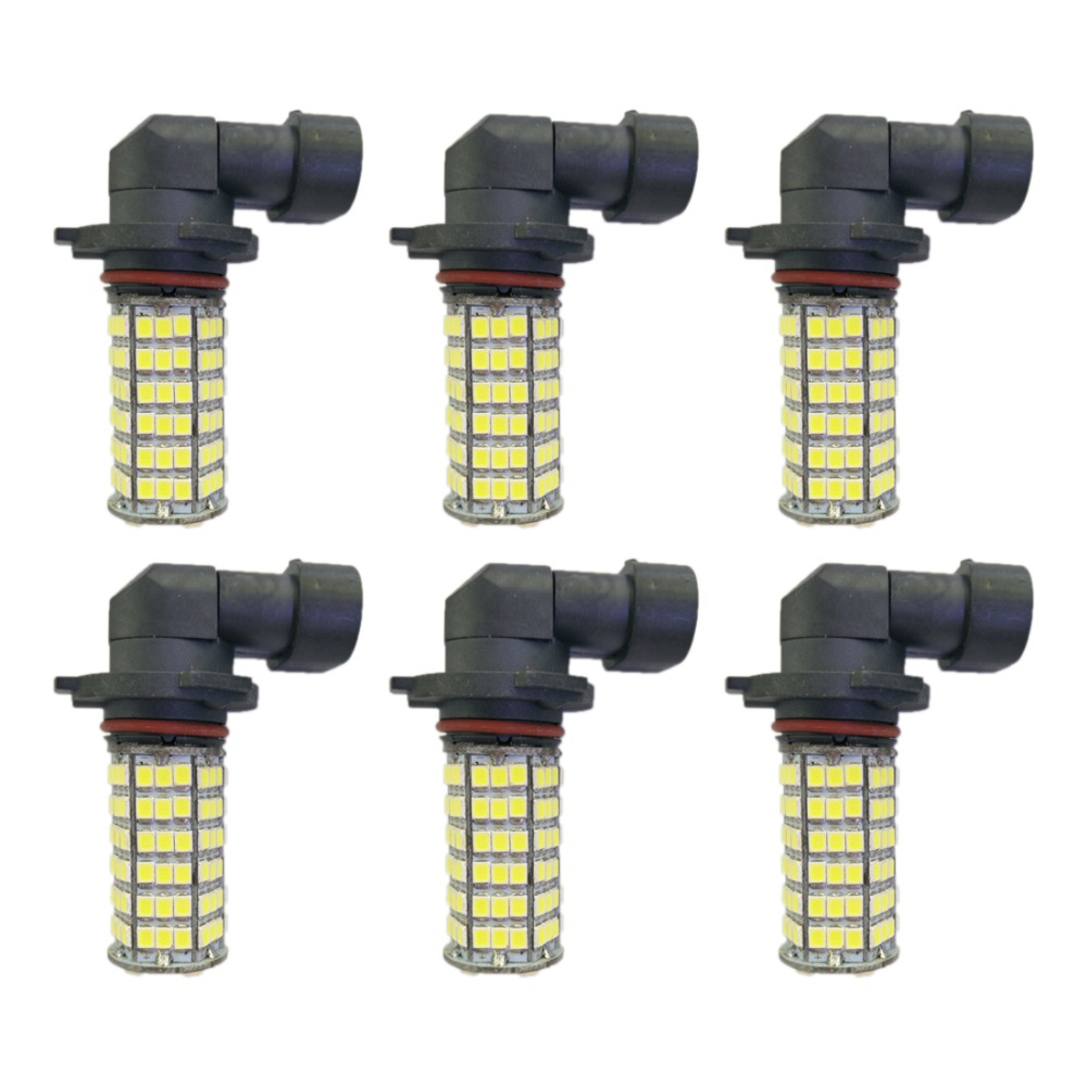 4w 9005 9006 H8 H11 120smd2835 Headlight/foglight Lamp For Car White Dc12v 5pcs Auto Light Source Fog Driving Headlight Lamp Moderate Price Lights & Lighting