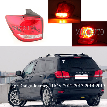цена на Rear Tail light outer side For Dodge Journey JUCV 2012 2013 2014 2015 Tail Stop Brake Lights Car parts Rear turn signal Fog lamp