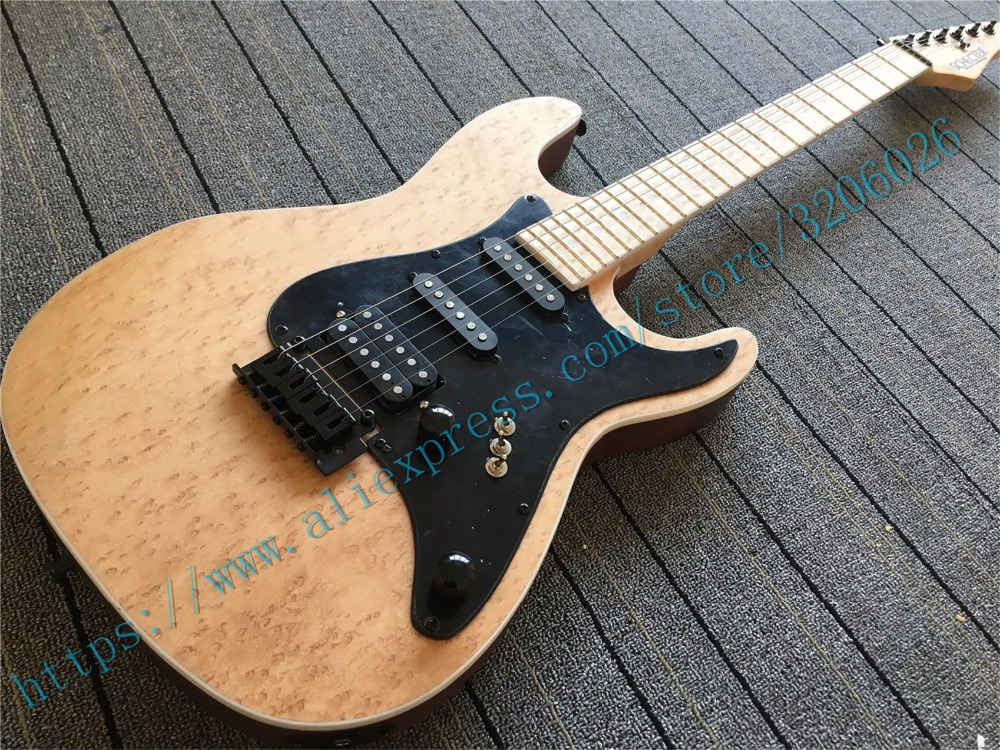 custom shop schecter model birds eye maple neck mahogany body with birds eye maple top locking. Black Bedroom Furniture Sets. Home Design Ideas