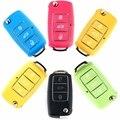 2016 Новый 3 Кнопки Дистанционного Ключа Оболочки Складной Контроллер Fob Крышки случая Коробка для VW Volkswagen Bora Beetle Golf Поло Passat