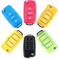 2016 New 3 Button Remote Key Shell Folding Controller Fob Case Cover Box for VW Volkswagen Bora Beetle Golf Polo Passat