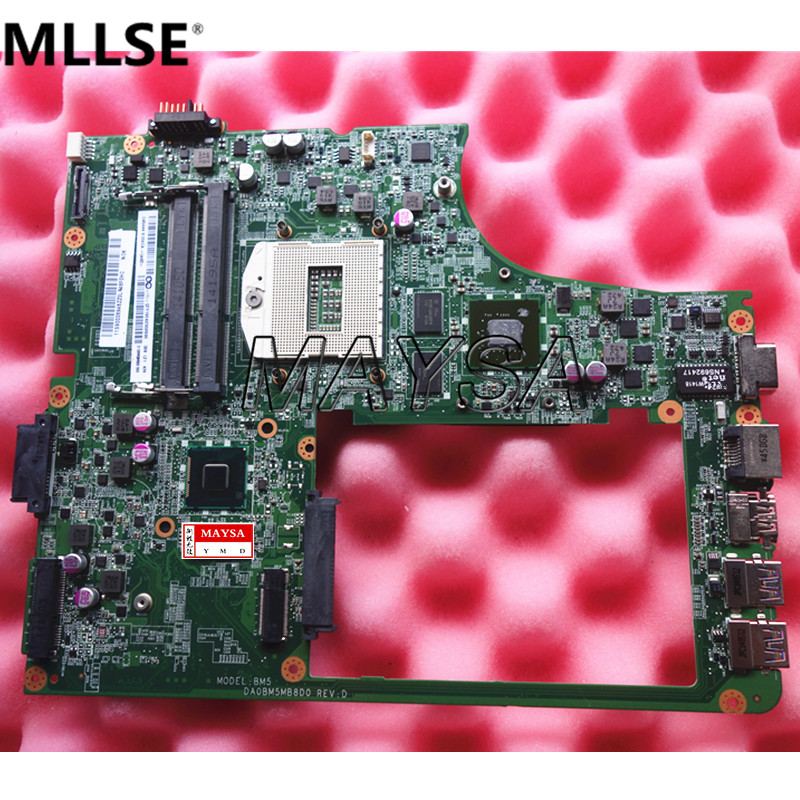 Original Main board Fit For Lenovo B5400 Laptop motherboard PGA 947 with Video card 100% tested Good working 744009 501 744009 001 for hp probook 640 g1 650 g1 motherboard socket 947 hm87 ddr3l tested working