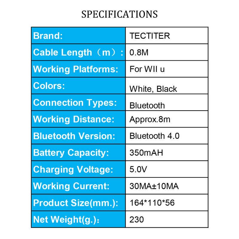 Для Nintendo для wii U Pro контроллер USB классический двойной аналоговый Bluetooth беспроводной пульт дистанционного управления для wii U Pro U геймпад