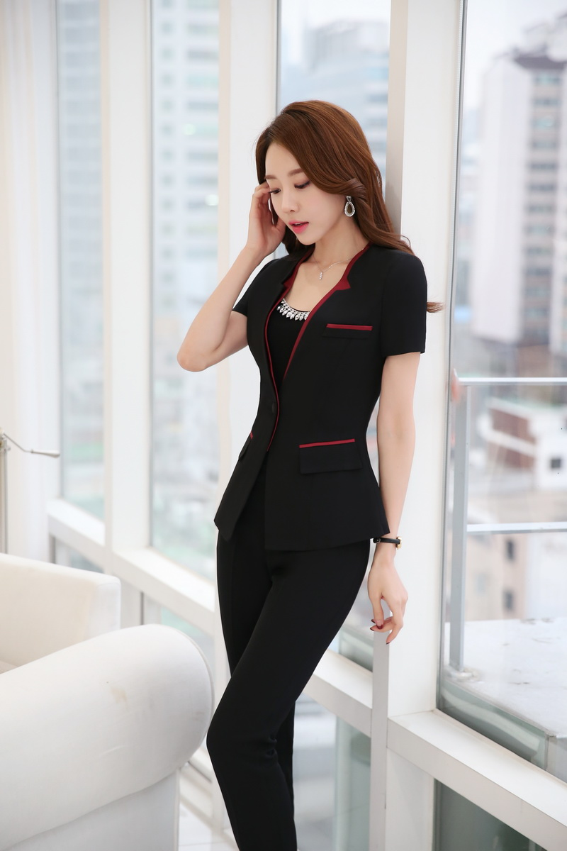 Formal OL Styles Professional Business Women Suits With Jackets ...