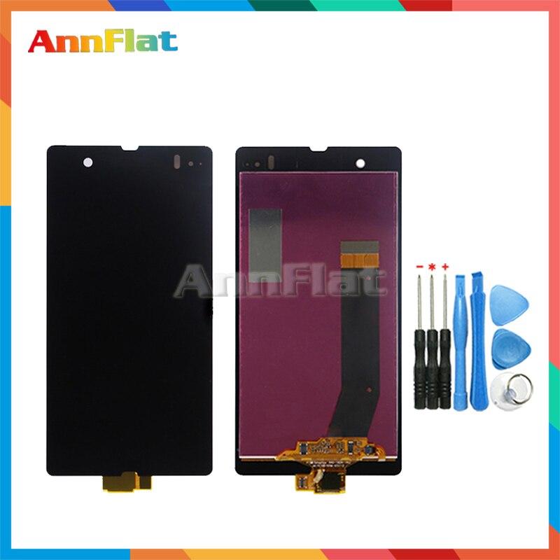 Di alta Qualità 5.0 ''Per La Sony Xperia Z L36H L36 LT36 C6602 C6603 C6606 LCD Display Dello Schermo Con Touch Screen digitizer Assembly