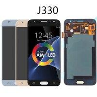 5inch ORiginal AMOLED LCD For Samsung Galaxy J3 2017 J330 J330F SM J330 Display touch screen assembly