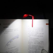 Itimo luminária para leitura, para livro, dobrável, flexível, ajustável, para leitura, para livro com bateria