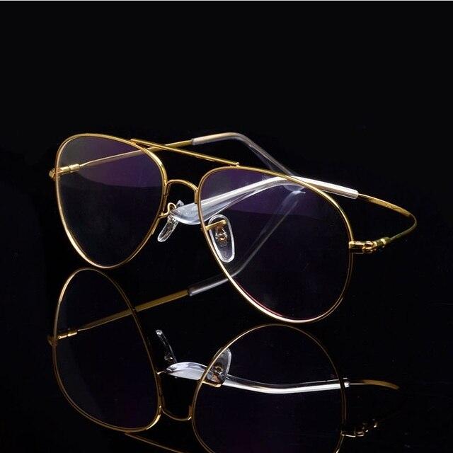 Cubojue Aviation Glasses Frame Men Women Titanium Eyeglasses Men Spectacles Ultra Light Fashion or Prescription Vintage Eyewear