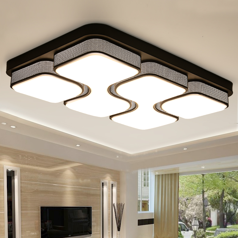 modern led ceiling lights for living room foyer bedroom lighting fixtures acrylic brief design kitchen kids ceiling lamp moderne