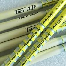 מנס גולף חדש TOUR AD-65II גרפיט גולף מגהצים מוט R או S או SR להגמיש בחירה 8pcs / lot מגהצים מוטות מוט משלוח חינם