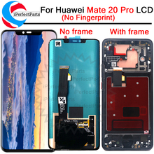 6.39 Lcd Voor Huawei Mate 20 Pro Lcd scherm Met Frame Touch Screen Digitizer Vergadering Vervanging Lcd Met frame