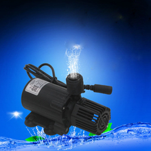 Low Consumption High Efficiency 800L/H DC12v Brushless Solar Fountain Aquarium Submersible Water Pump