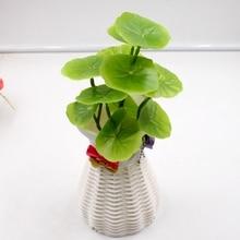Artificial Green Plastic Lotus Leaves