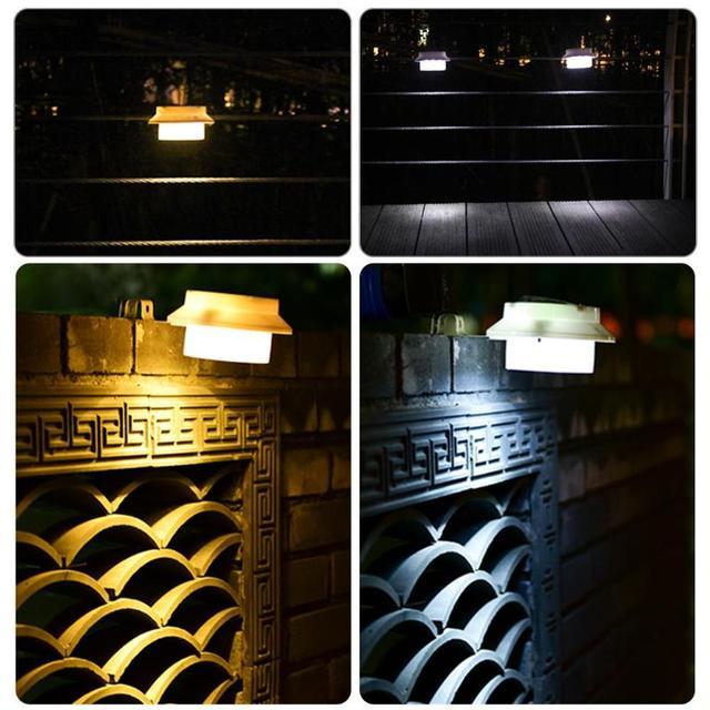 3led solar power street light pir motion sensor lamps garden 3led solar power street light pir motion sensor lamps garden security lamp outdoor fence landscape waterproof mozeypictures Images