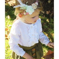 Newborn Baby Girls Clothing Set 2Pcs Set Lace Shirt Botton Skirt Elegant Girls Skirt Lady S